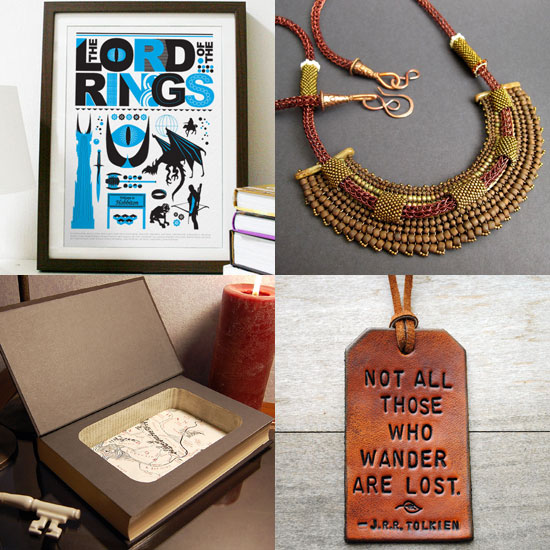 Tolkien Week: Lord of the Rings Items on Etsy
