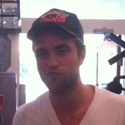 Robert Pattinson Picture Shopping in LA at Vintage Furniture Store TINI