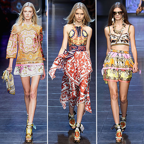 D&G: Spring 2012 | POPSUGAR Fashion