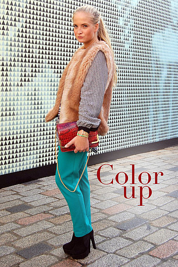 What to Wear with Bright Pants