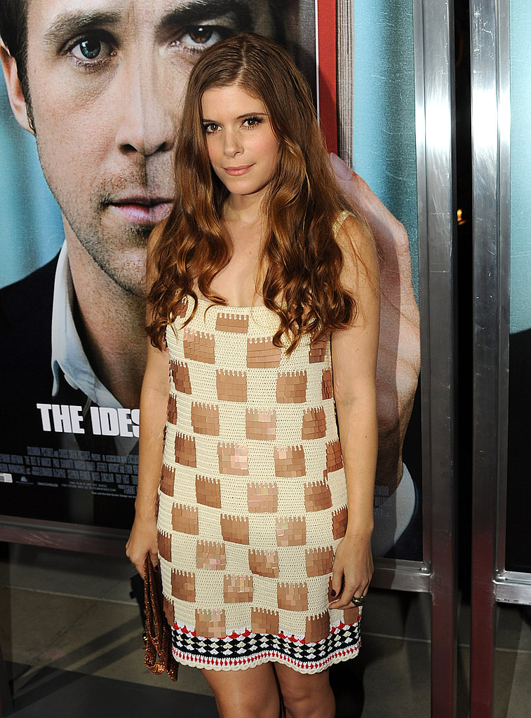 Kate Mara supported her boyfriend Max Minghella, who stars in The Ides of March.