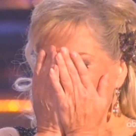 Nancy Grace Wardrobe Malfunction on Dancing With the Stars
