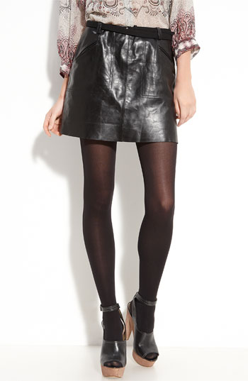 A great leather skirt in a classic shape you will live in all season. Joie Felicia Leather Skirt ($298)