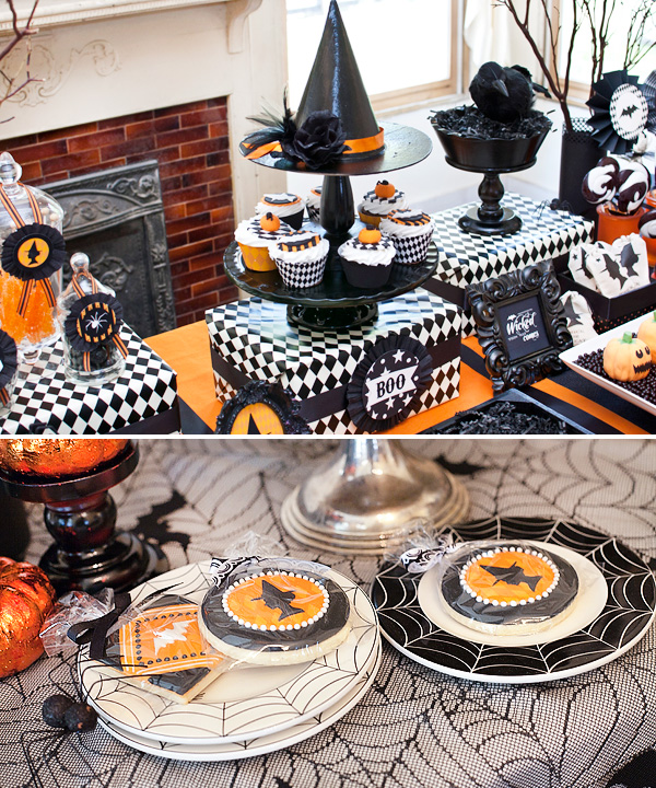 Harlequin Halloween Display