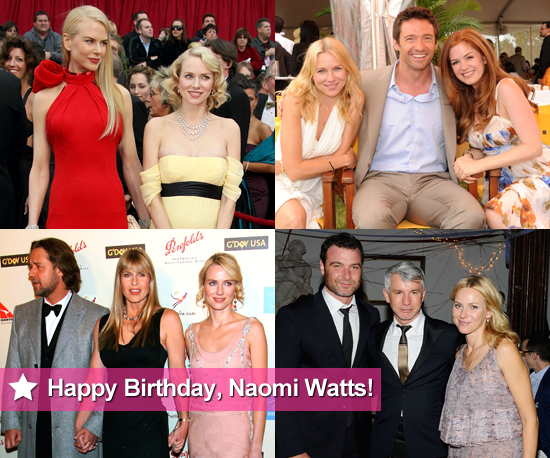 Naomi Watts Pictures With Australian Friends Nicole Kidman, Hugh Jackman, Isla Fisher and More
