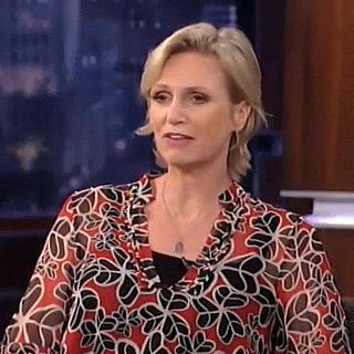 Jane Lynch on Jimmy Kimmel