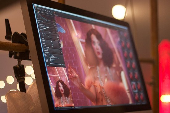EXCLUSIVE: Behind the Scenes at Katy Perry's ghd Scarlet Collection Shoot