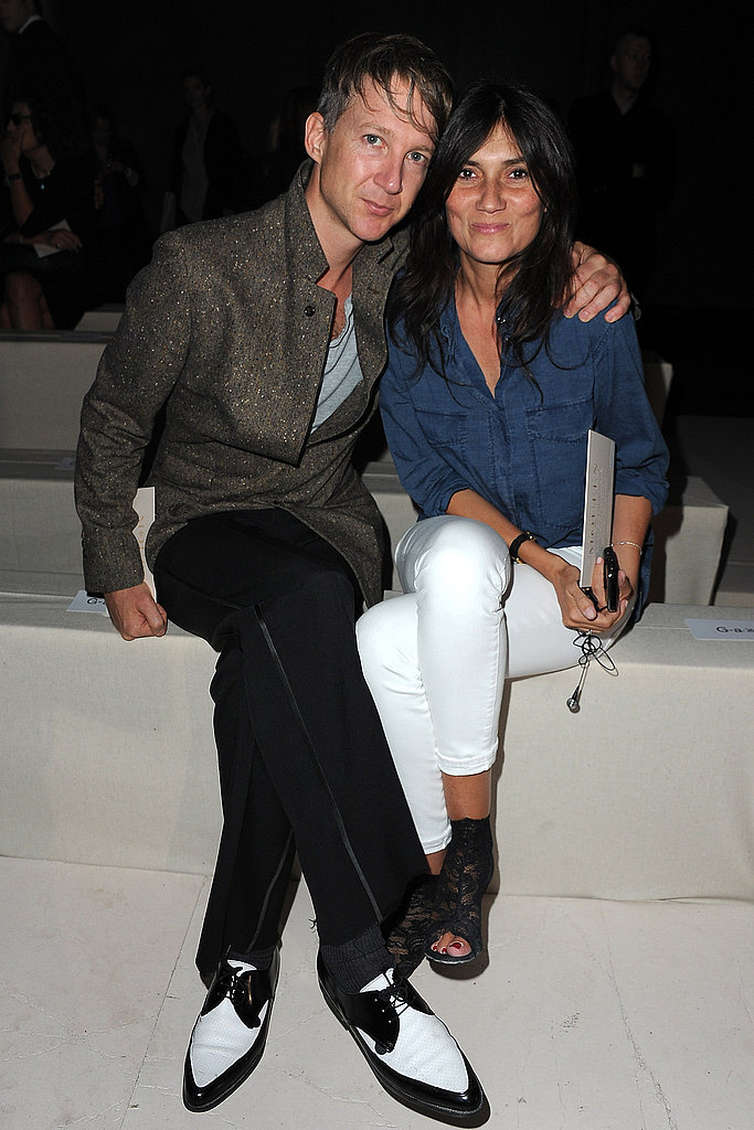 Jefferson Hack and Emmanuelle Alt