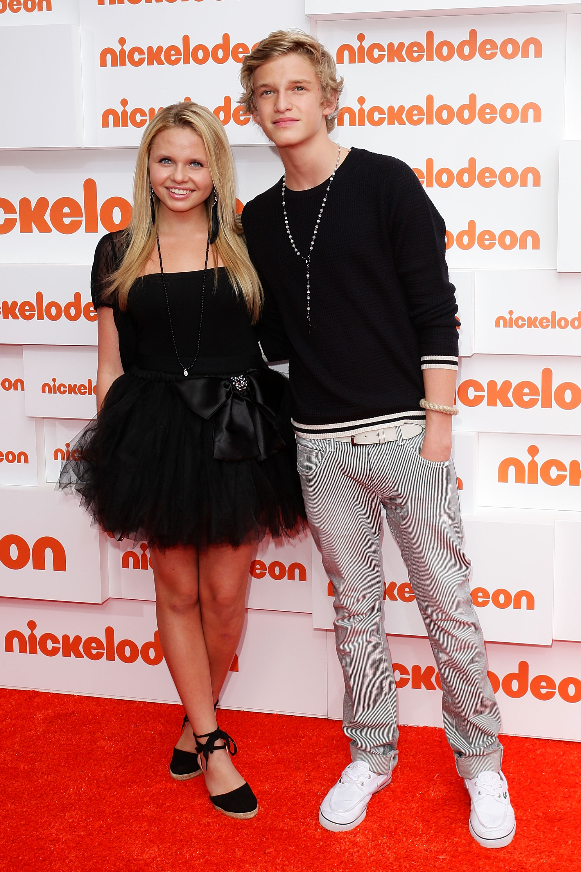 Alicia Banit and Cody Simpson
