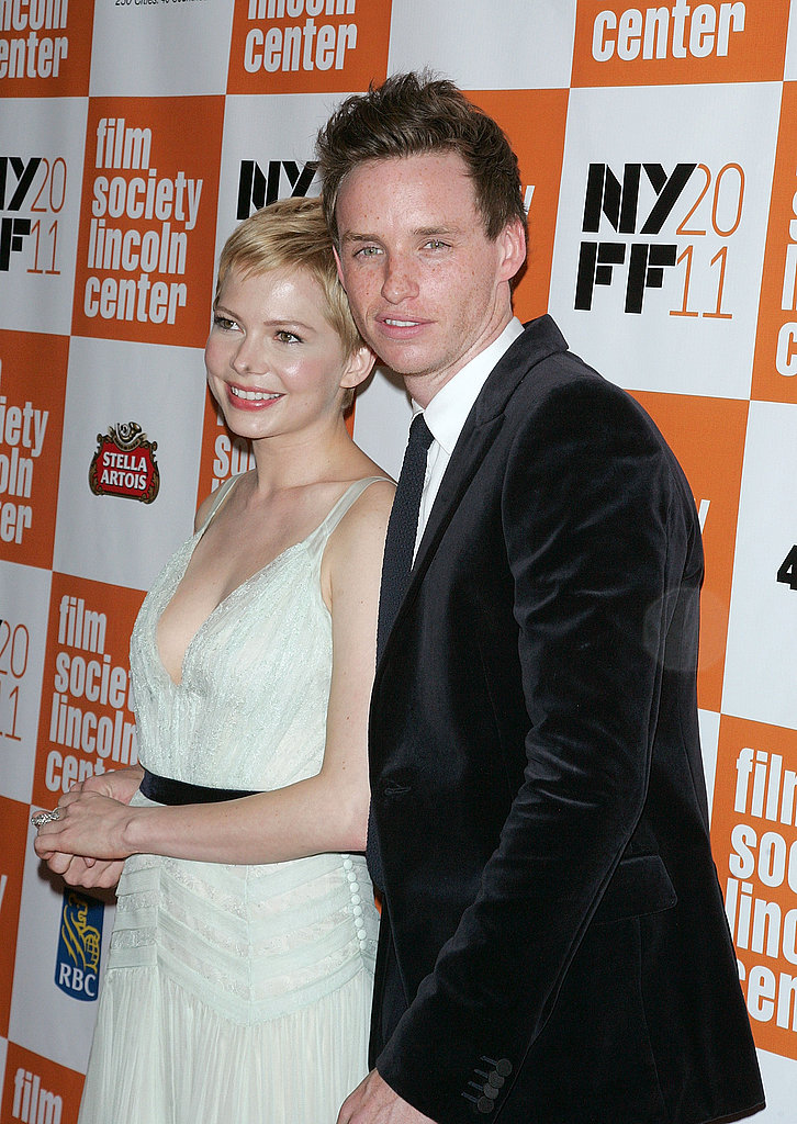 Michelle Williams and Eddie Redmayne walked into their premiere together at the New York Film Festival.