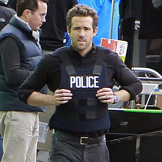 Ryan Reynolds Filming RIPD Pictures on His Birthday