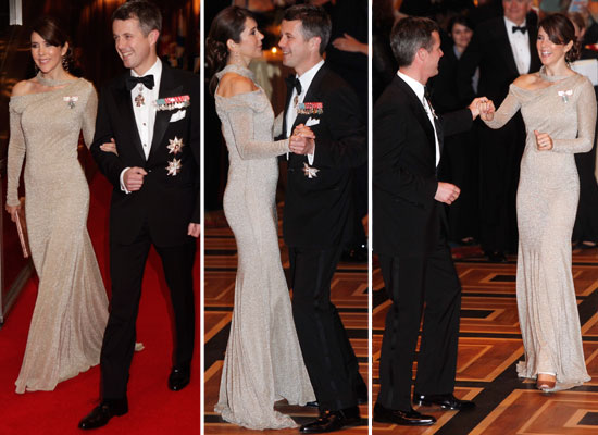 Pictures of Princess Mary & Prince Frederick On the Dance Floor at the Centennial Ball in NYC: See Her Glam Gown from All Angles
