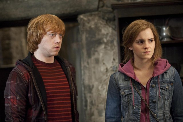 Ron and Hermione From Harry Potter and the Deathly Hallows Part 2