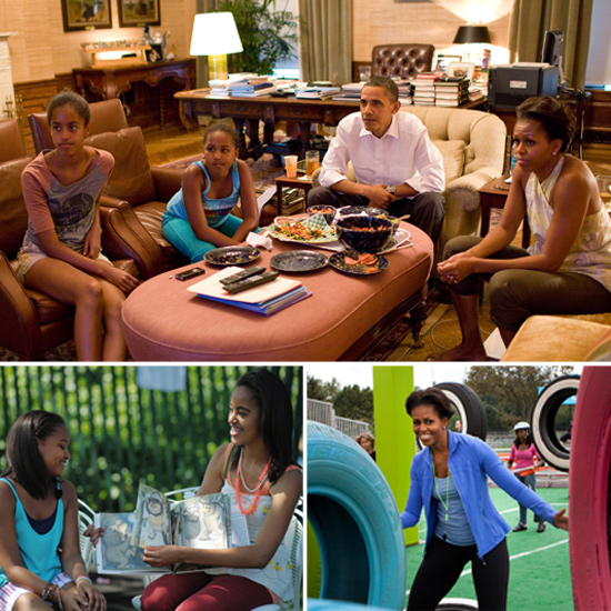 The First Lady's Hopes and Fears on Raising Her Daughters