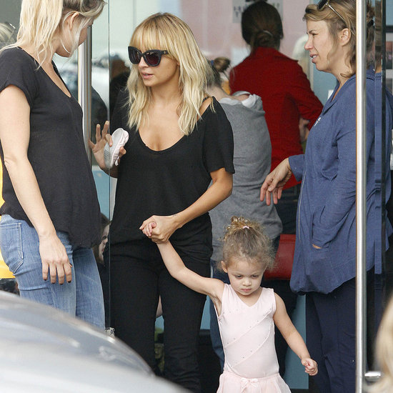 Nicole Richie Takes Harlow Madden to Ballet Pictures