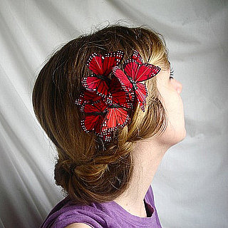 Etsy McQueen-Style Butterfly Hair Comb
