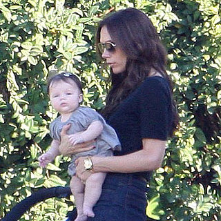 Victoria Beckham With Harper Pictures in LA