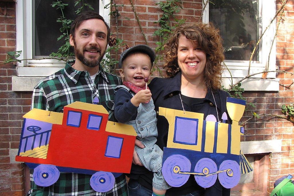 A Family Choo-Choo Train