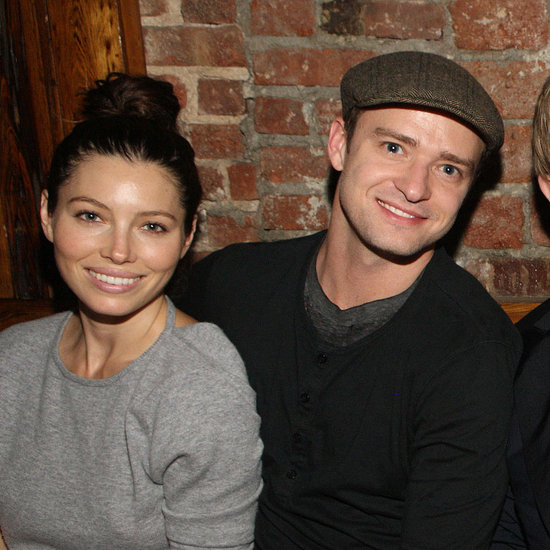 Justin Timberlake and Jessica Biel Hugging in NYC Pictures