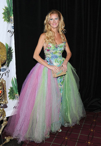 Chef Sandra Lee channeled a princess at Bette Midler's 2011 Halloween party at the Waldorf-Astoria.