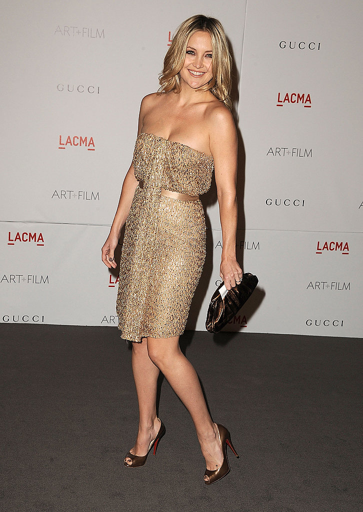 Kate Hudson's LACMA night in with Matt Bellamy.