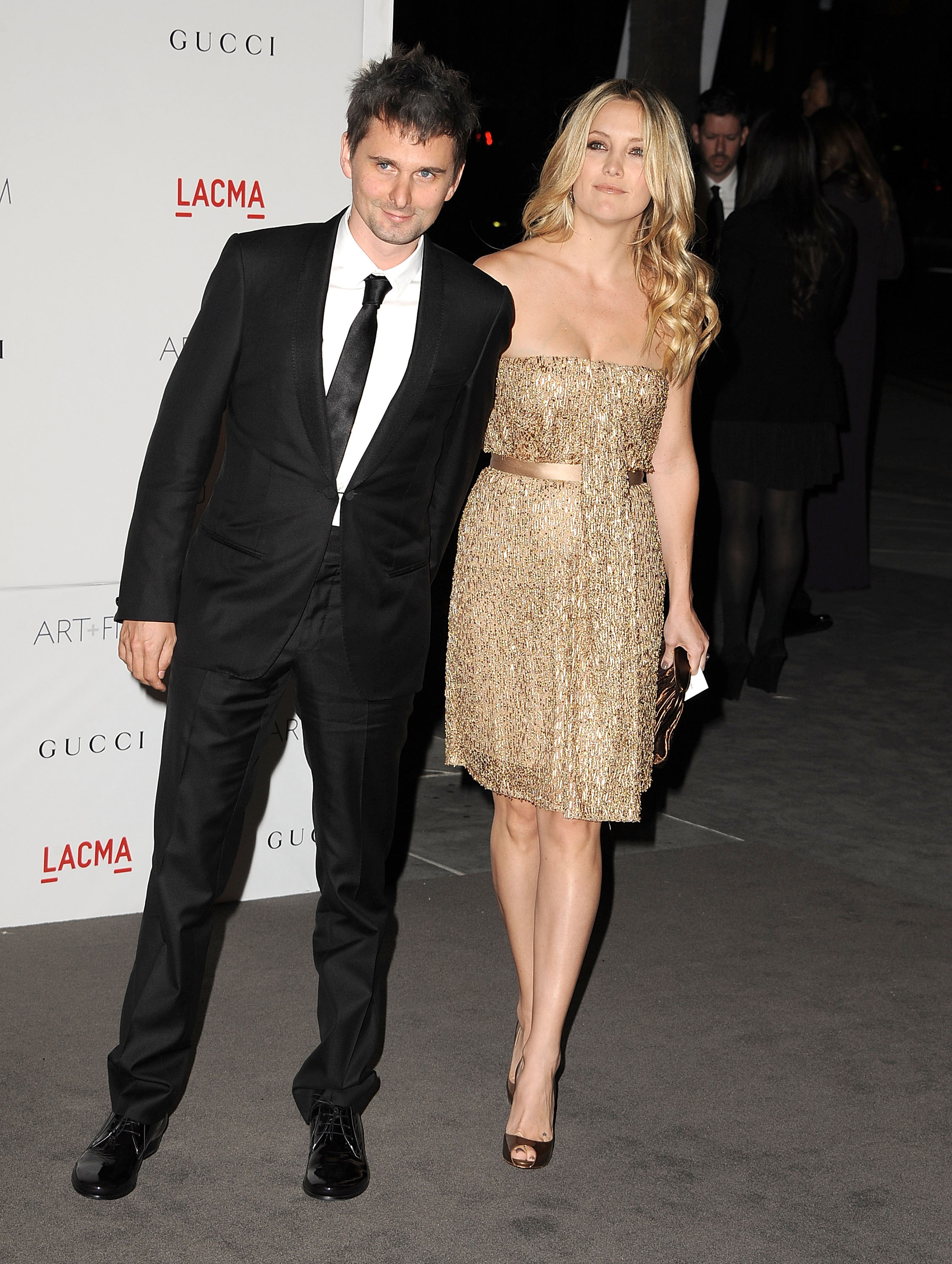 Kate Hudson and fiancé Matt Bellamy.