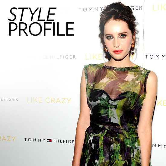 Felicity Jones Style Stalk: We Recount the Like Crazy Star's Best Fashion Moments