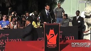 Video of the Twilight Handprint Ceremony