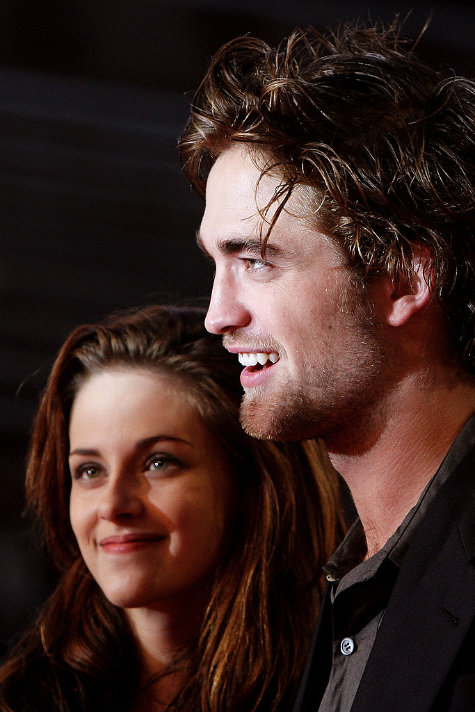 Robert Pattinson and Kristen Stewart did press together at the 2008 Twilight premiere in Rome.