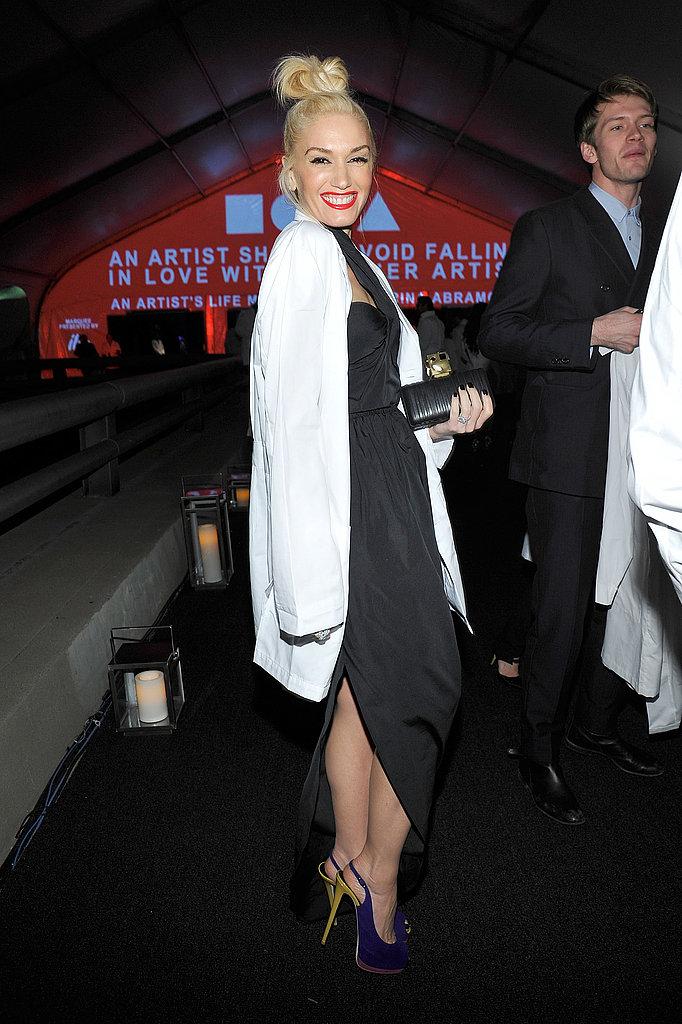 Celebrities at MOCA Gala