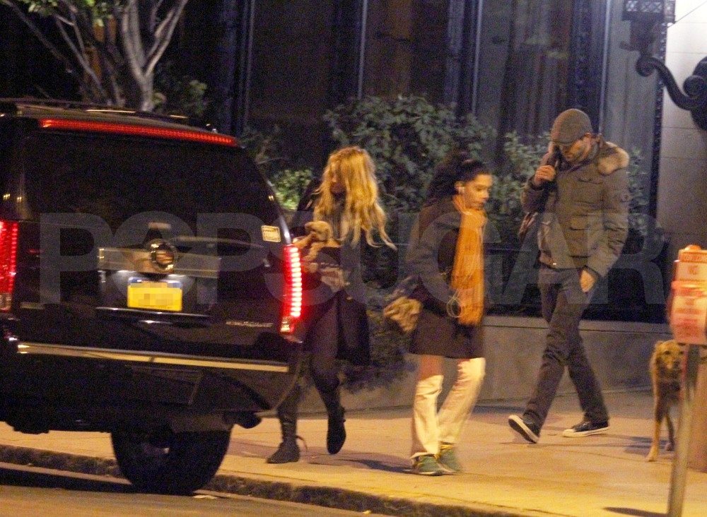 Blake Lively and Ryan Reynolds left his Boston home.