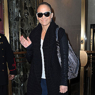 Jennifer Lopez With Emme in NYC Pictures