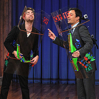 Robert Pattinson on Late Night With Jimmy Fallon Pictures