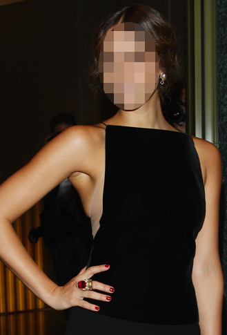 Guess Which Celebrity Rocked a Red Manicure Yesterday?