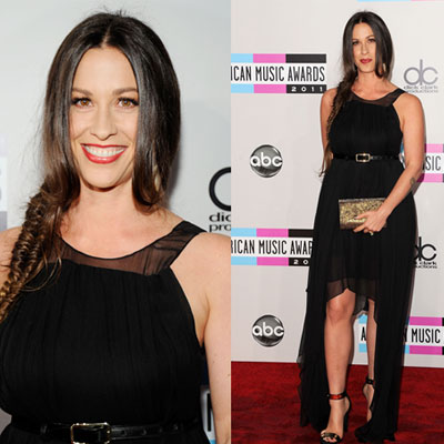 Alanis Morissette at 2011 American Music Awards