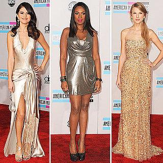 Selena Gomez and Taylor Swift at American Music Awards 2011