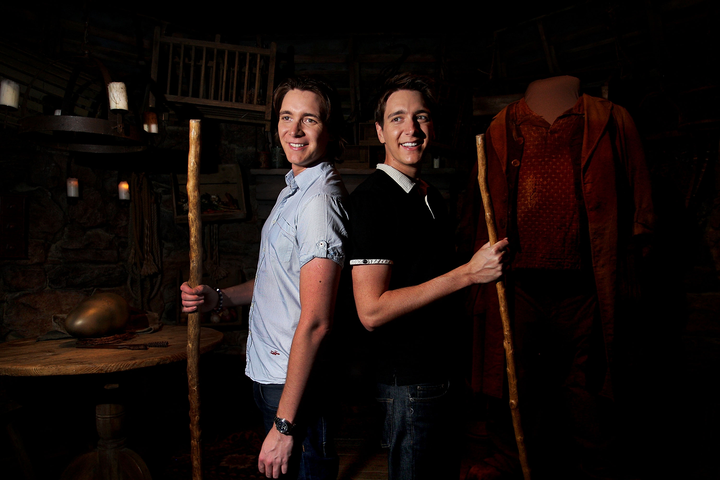 James and Oliver Phelps