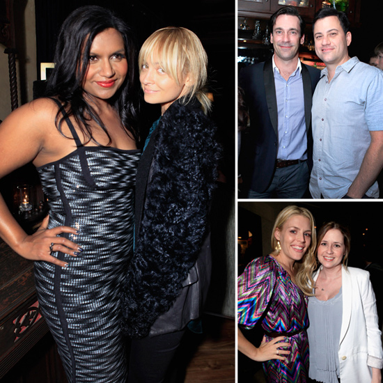 Mindy Kaling celebrated the release of her book Is Everyone Hanging Out Without Me? (And Other Concerns) in Hollywood on Nov. 14 with friends like Nicole Richie, Jon Hamm, Jimmy Kimmel, Busy Phillips and Jenna Fischer.