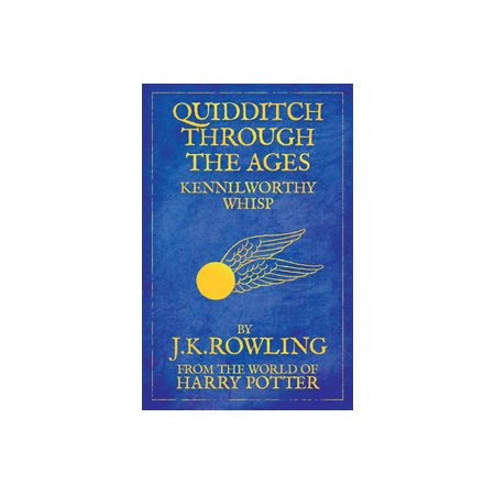 Quidditch Through The Ages, $13.95