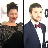 Justin Timberlake and Jessica Beil at the GQ Party Video