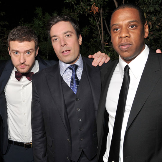 Jay-Z, Jimmy Fallon, Justin Timberlake Pictures at GQ Party
