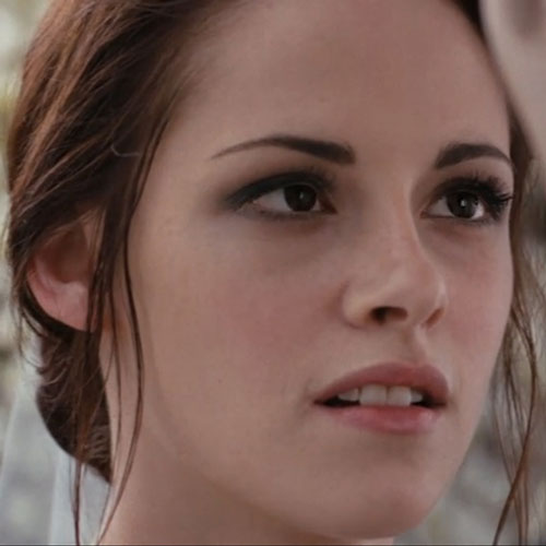 Bella Swan's Wedding Makeup in Breaking Dawn
