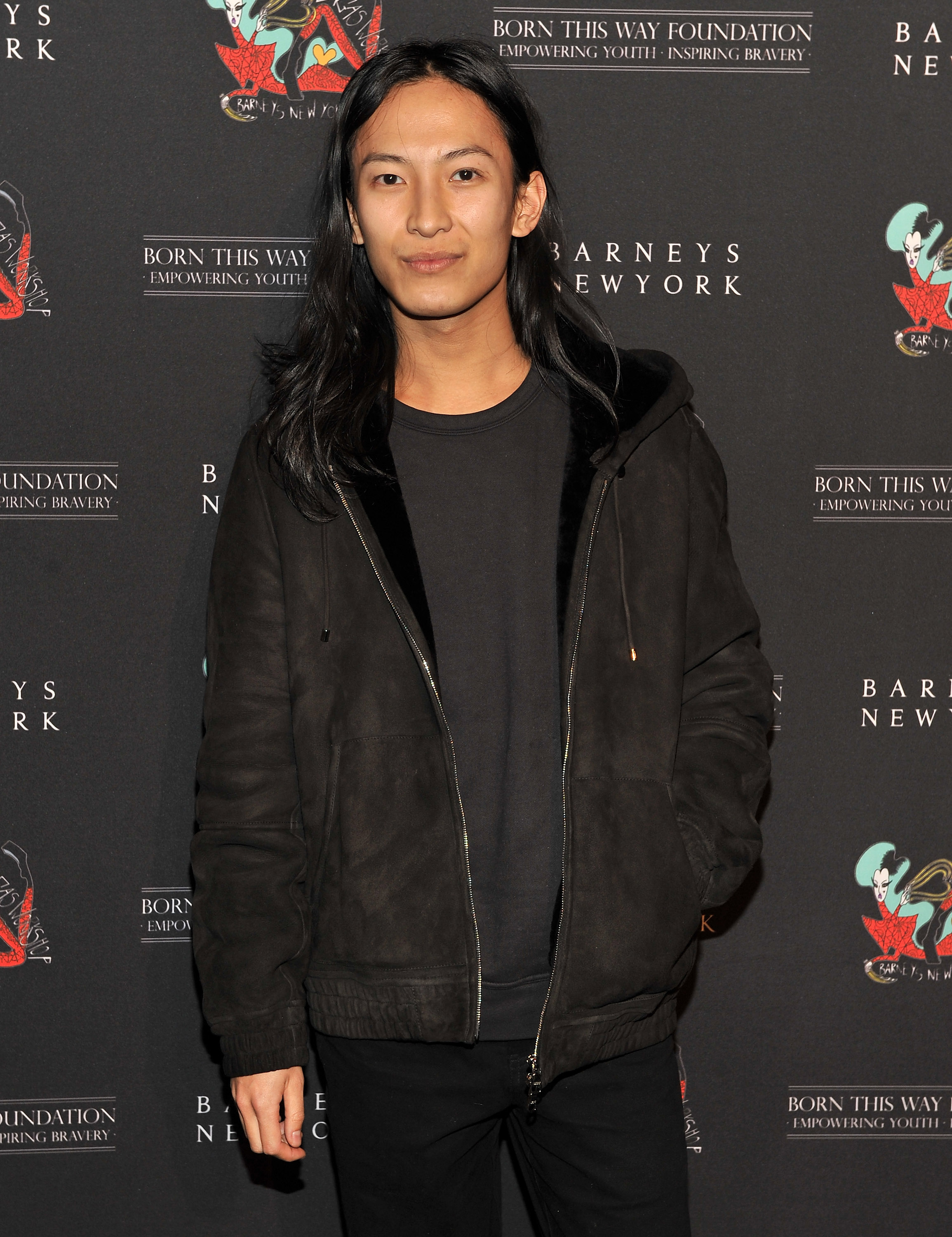Alexander Wang attended the party in NYC.