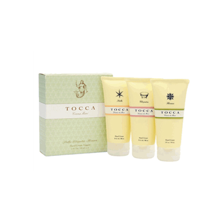 Tocca Rich Hand Cream Trio, $28