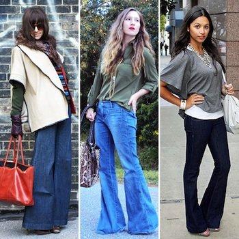 Styling Tip: Wear Flare or Wide-Leg Jeans