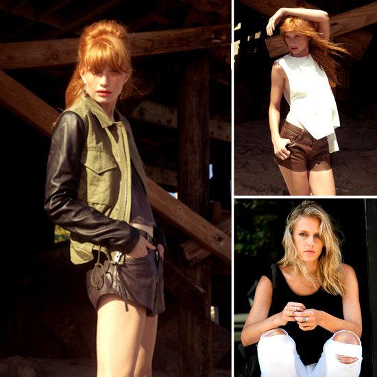 Veda Leather Jackets Spring 2012 Lookbook