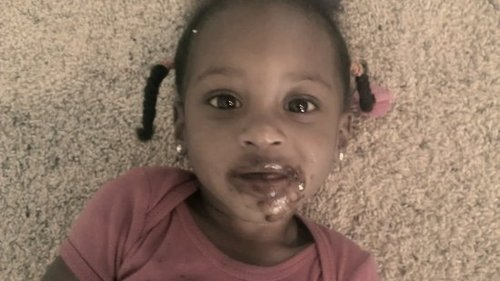 Guess who got in the chocolate....