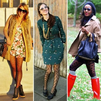 Styling Tip: Wear Patterned Tights
