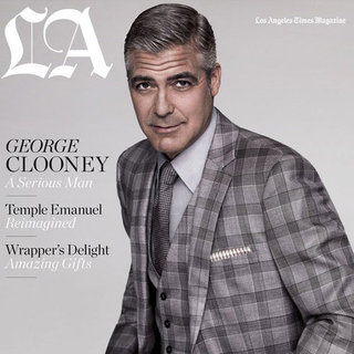George Clooney on the December Cover of LA Times Magazine