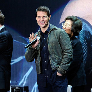 Tom Cruise in Tokyo for Mission Impossible Pictures
